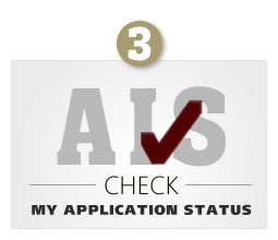 AIS - Check My Application Status